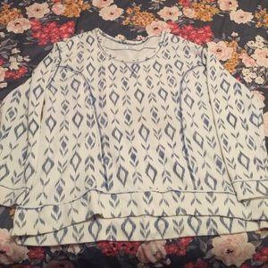 Maurices crew neck sweatshirt